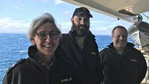 Image of Chaplain Catherine Wynn-Jones - Sea Trials