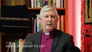 Image of Anglican Bishop to the ADF Grant Dibden