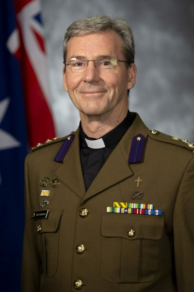 Image of Australian Army Chaplain Robert Sutherland – Defence Anglicans